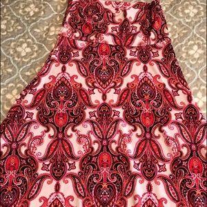 New!! Rare! LuLaRoe XS Maxi Skirt